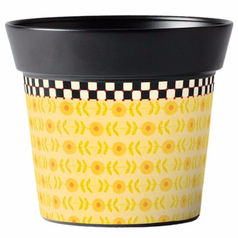 "Merriment Yellow 6"" Pot"
