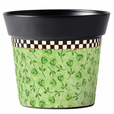 "Merriment Green 6"" Pot"