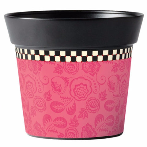 "Merriment Pink 6"" Pot"