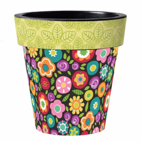 "Bright Mix 12"" Planter"