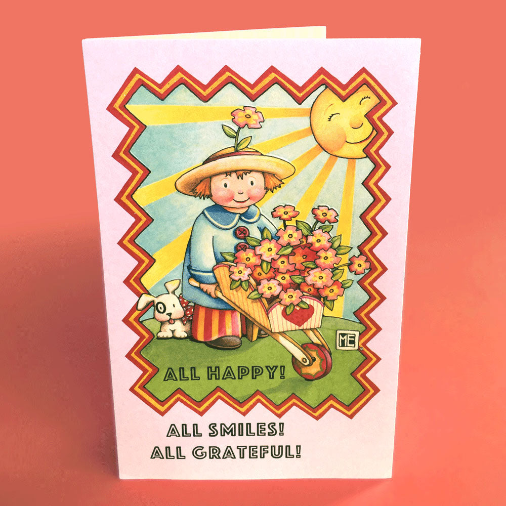 Thanks I Needed That Greeting Card Mary Engelbreit