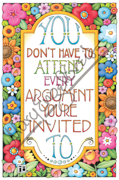 Argument Invited Magnet