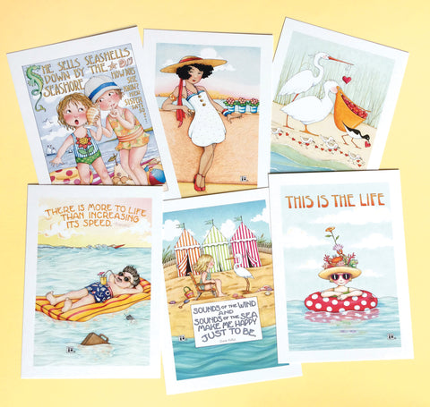 Beach Postcards, series 2
