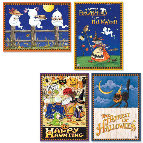 Halloween Card Bundle Set/8 assorted