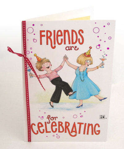 Celebrating Friends Greeting Card