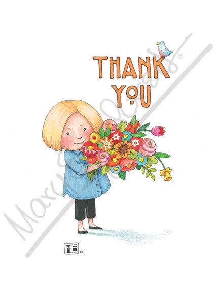 Thank you cards mary engelbreit thank you greeting card m4hsunfo