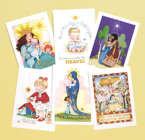 Christmas Faithful Postcards