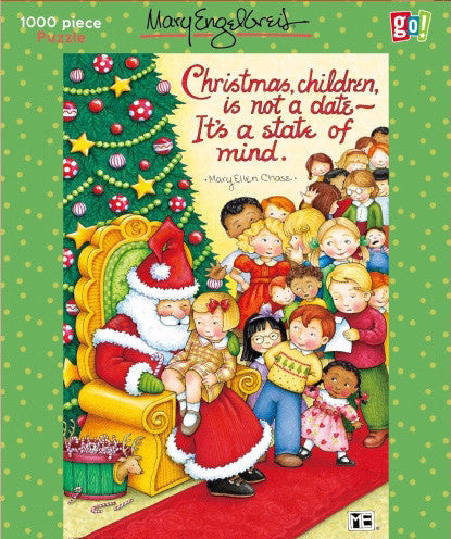 Christmas State of Mind Puzzle – Mary Engelbreit
