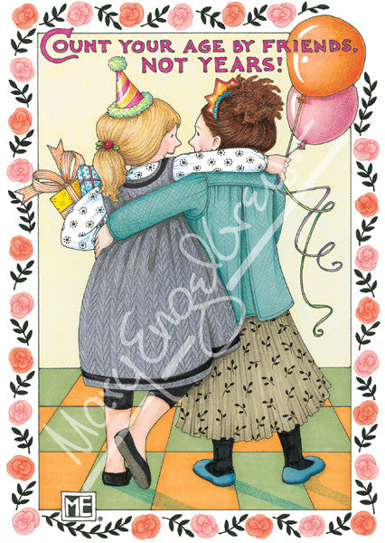 Count Your Age Greeting Card Mary Engelbreit