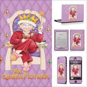 Phone or Tablet Case/Skin: Queen Mother