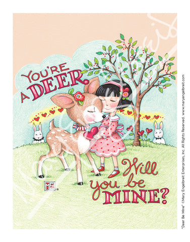 Deer Be Mine Mini Print
