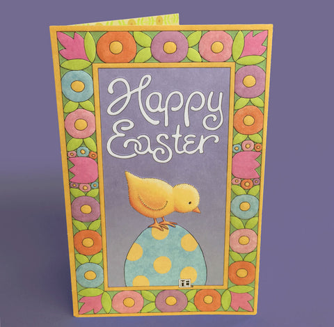 Happy Easter Chick Easter Card