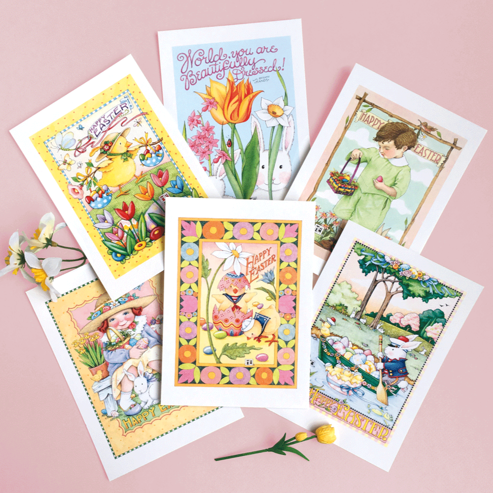 easter postcards mary engelbreit