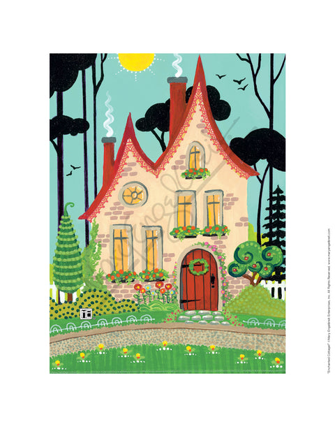 Enchanted Cottage Fine Print