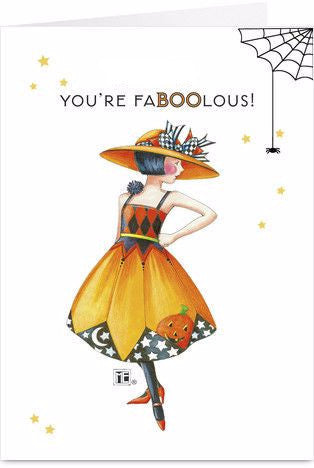 FaBOOlous Greeting Card