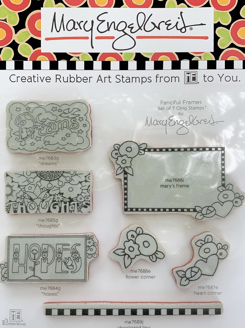Fanciful Frames Stamps