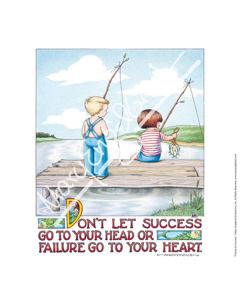 Fishing for Success Fine Print