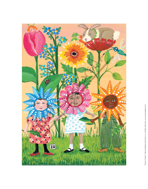 Flower Friends Fine Art Print