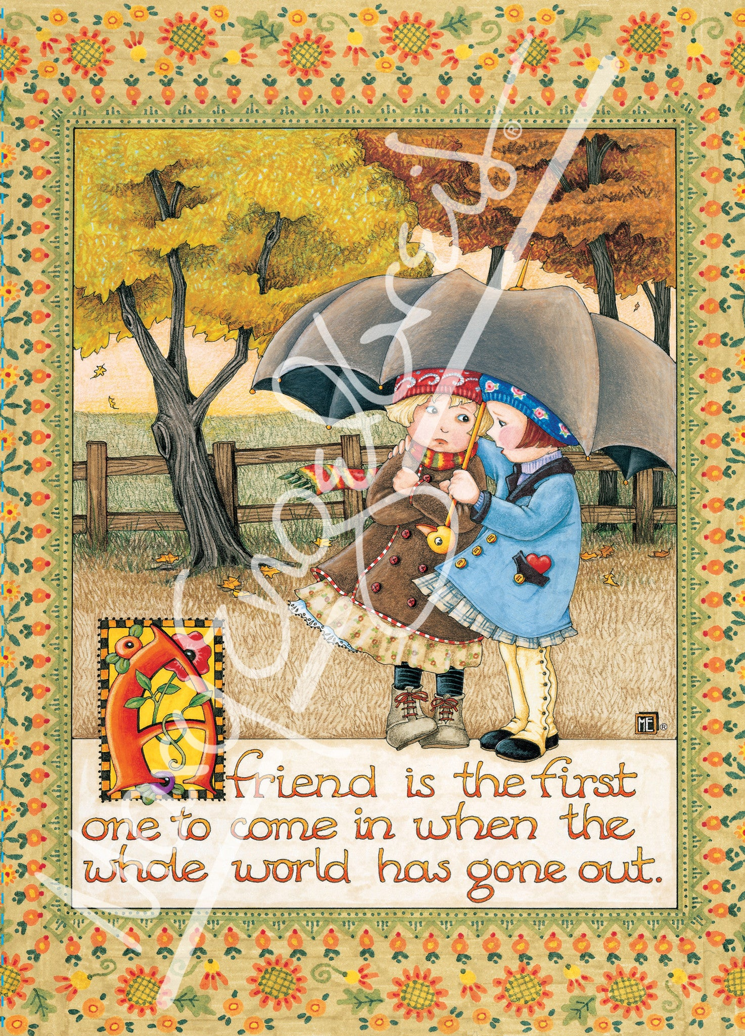 friend is first greeting card – mary engelbreit