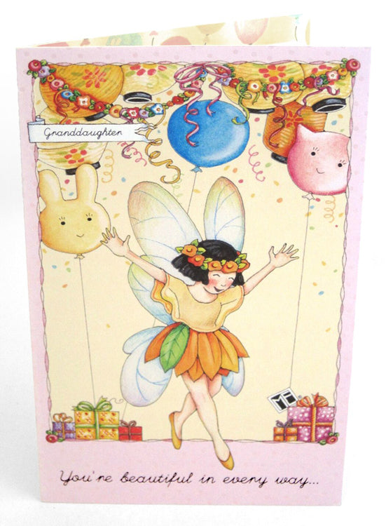 Granddaughter fairy birthday card mary engelbreit granddaughter fairy birthday card bookmarktalkfo Image collections