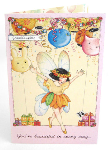 Granddaughter Fairy Birthday Card