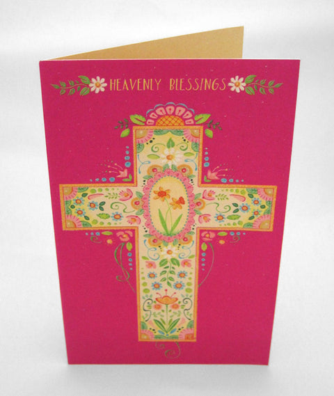 Heavenly Blessings Easter Card
