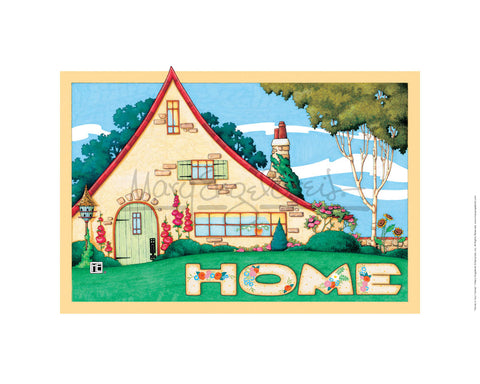 Home Is Your Canvas Fine Print