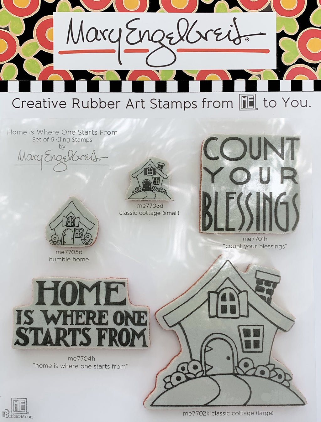 Home is Where One Starts From Stamps