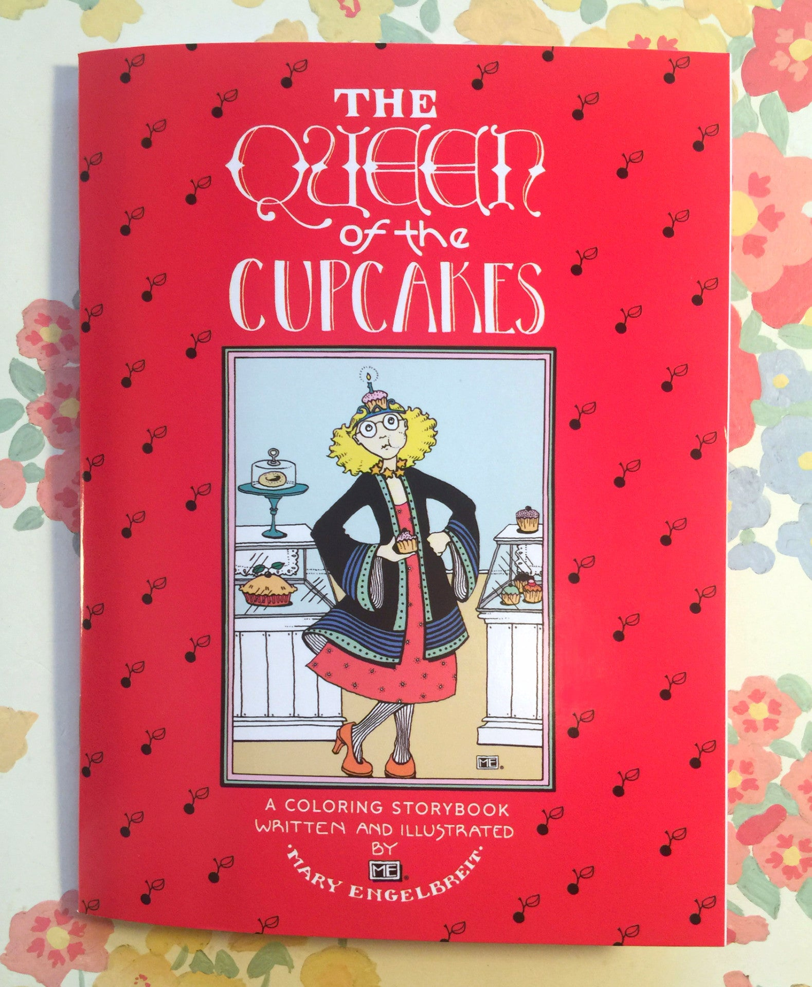 the queen of the cupcakes coloring storybook u2013 mary engelbreit