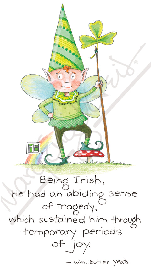 Irish Fairy Magnet
