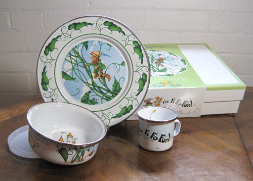 Jack and the Beanstalk Child Dish Set
