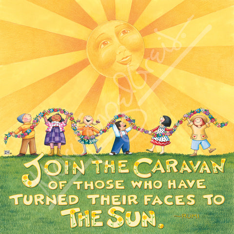 Join the Caravan Magnet