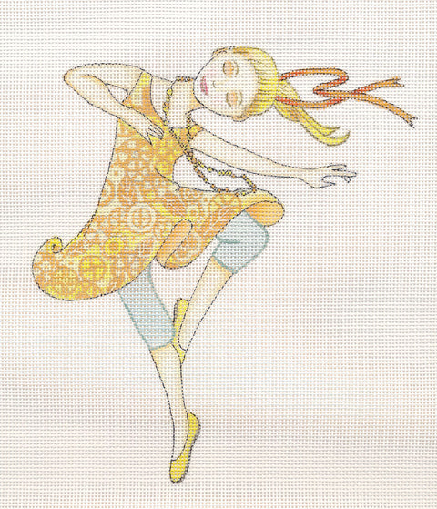 Needlepoint Canvas: Just Twirl