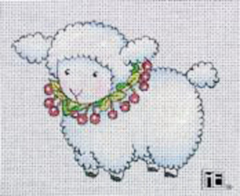 Needlepoint Canvas: Little Lamb