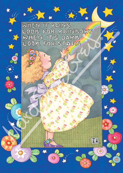 Look for Rainbows Greeting Card