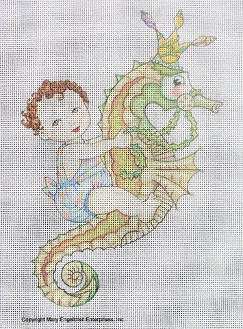 Needlepoint Canvas: Magical Summer