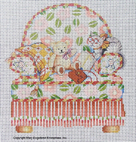 Needlepoint Canvas: Pink Chair