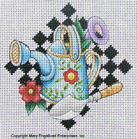 Needlepoint Canvas: Watering Can
