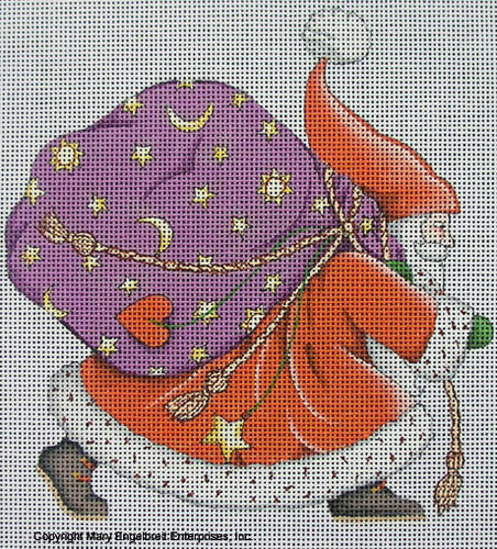 Needlepoint Canvas: Believe Santa