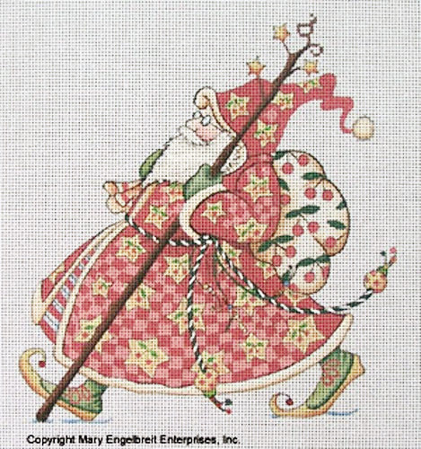 Needlepoint Canvas: Olde World Check