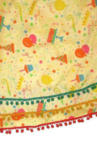 Happy Birthday Table Skirt