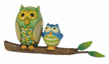 Mini Owls on Branch