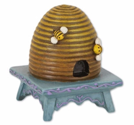 Mini Beehive on Stool