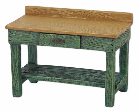 Mini Green Potting Bench