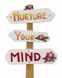 Mini Nuture Your Mind Sign