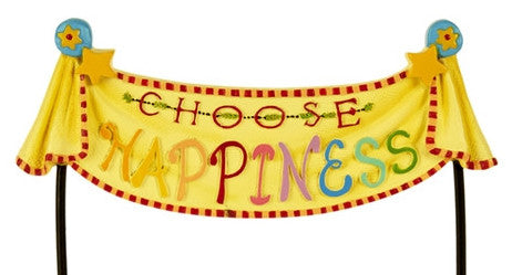 Mini Choose Happiness Banner