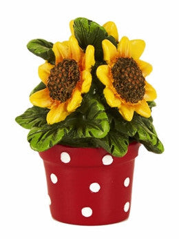 Mini Potted Sunflowers