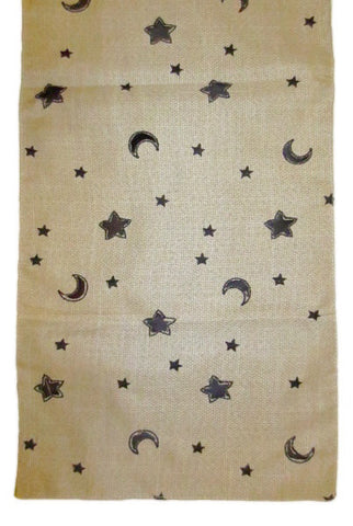 Table Runner: Moon & Star