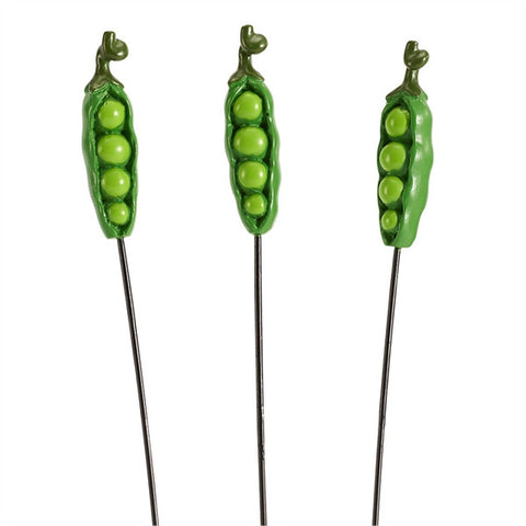 Mini Pea Pod Picks