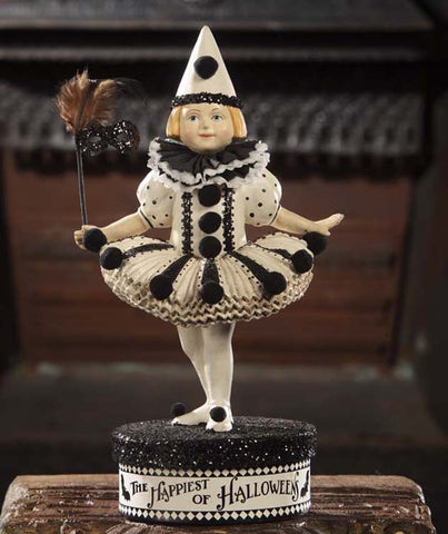 Dance Into My Heart  Halloween Figurine / Container